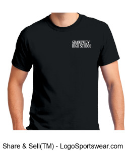 Gildan Adult Unisex Ultra Cotton T-shirt Design Zoom