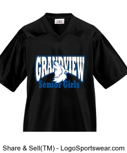 Adult Overtime Football Fan Jersey Design Zoom